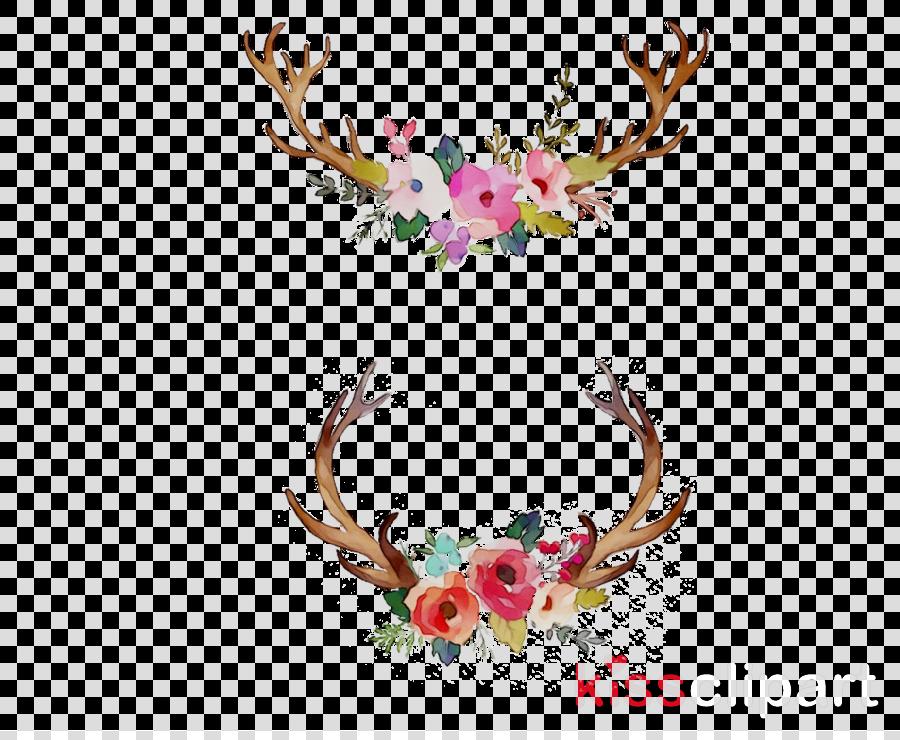 Watercolor antlers clipart jpg Watercolor Flower Background clipart - Flower, Painting ... jpg