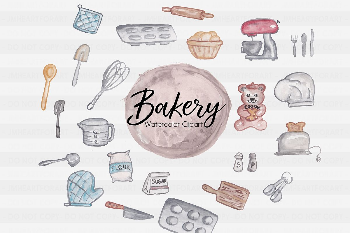 Watercolor baking clipart graphic stock Bakery Clipart-Sweets Clipart-Baking Clipart-Flour Clipart-Cooking  Clipart-Clipart-Watercolor Clipart-Chef-Watercolor utensils-spatula graphic stock