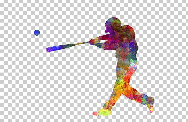 Watercolor baseball player clipart image free download Work Of Art Baseball Player Watercolor Painting Printmaking ... image free download