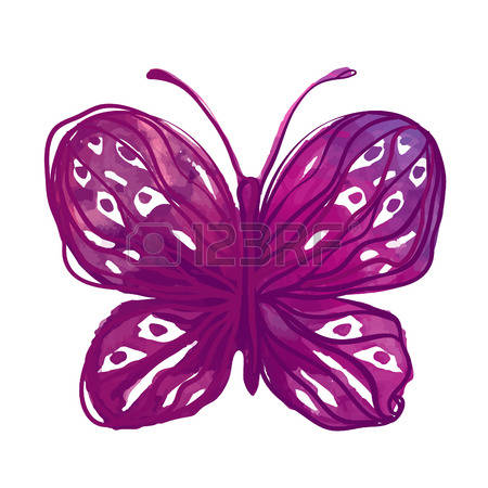 Watercolor butterfly free clipart clipart free 5,291 Watercolor Butterfly Stock Vector Illustration And Royalty ... clipart free