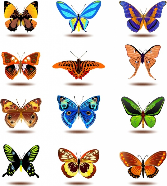 Watercolor butterfly free clipart graphic transparent library Watercolor butterfly free vector download (2,675 Free vector) for ... graphic transparent library