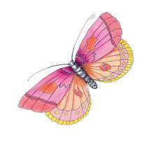 Watercolor butterfly free clipart picture freeuse stock Free butterfly watercolor clipart - ClipartFest picture freeuse stock