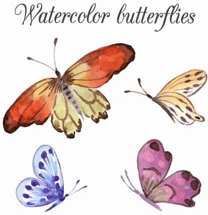 Watercolor butterfly free clipart png freeuse stock Watercolor butterfly free vector download (2,675 Free vector) for ... png freeuse stock