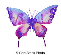 Watercolor butterfly free clipart black and white download Butterfly design Stock Illustrations. 65,912 Butterfly design clip ... black and white download