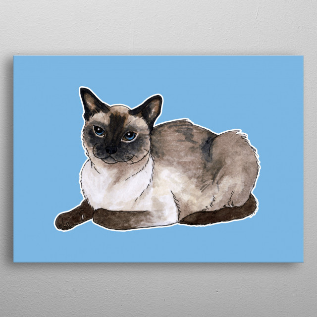 Watercolor chocolate siamese clipart png library library Siamese Cat Watercolor at PaintingValley.com | Explore ... png library library