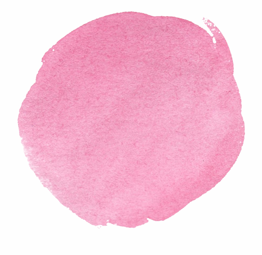 Watercolor circle clipart picture library library Free Download - Pink Watercolor Circle Png Free PNG Images ... picture library library