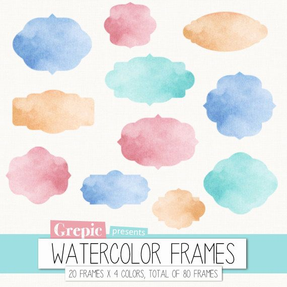 Watercolor clipart banner transparent 17 Best images about Watercolor clipart on Pinterest | Clip art ... banner transparent