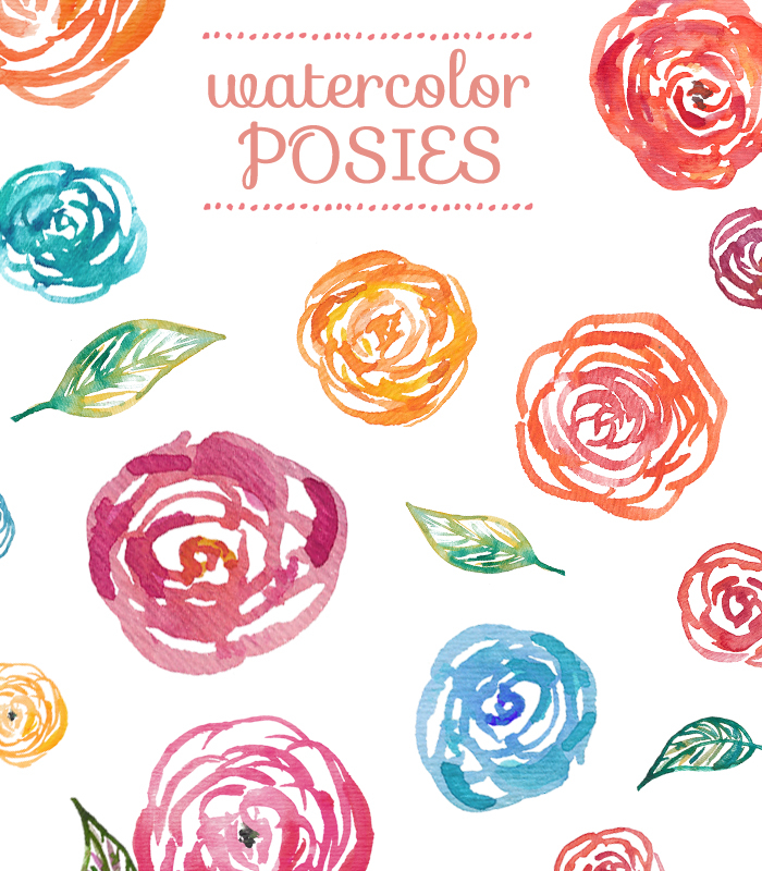 Watercolor clipart image library library Watercolor Clipart Flowers image library library