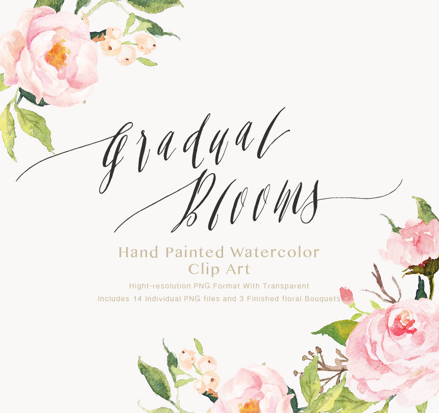 Watercolor clipart png png library Watercolor flower clipart png - ClipartFox png library