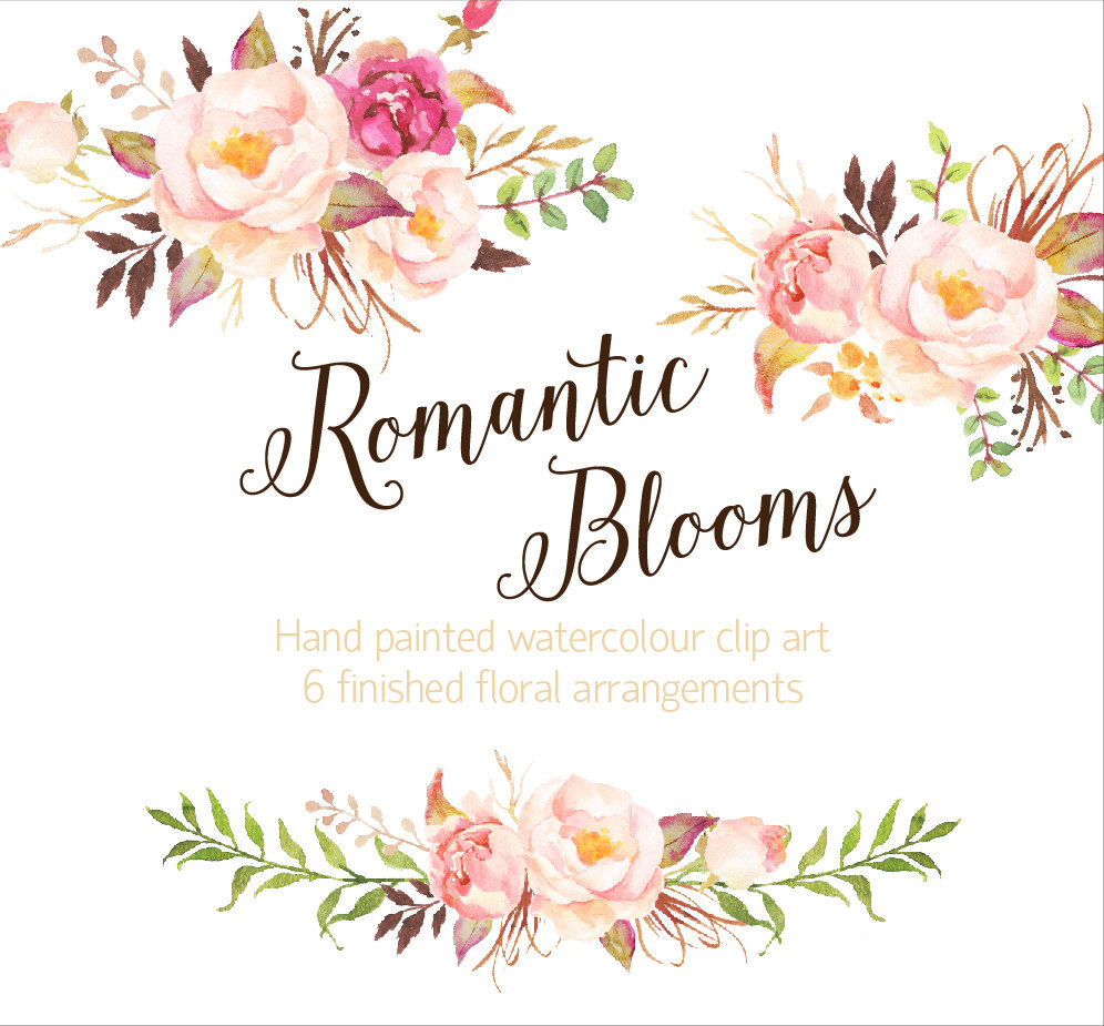 Watercolor clipart png png black and white download Watercolor flower clipart png - ClipartFest png black and white download