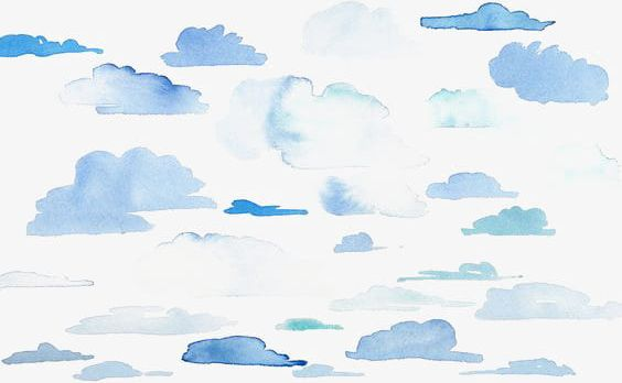 Watercolor clouds clipart clip art Watercolor Clouds PNG, Clipart, Blue, Blue Clouds, Clouds ... clip art