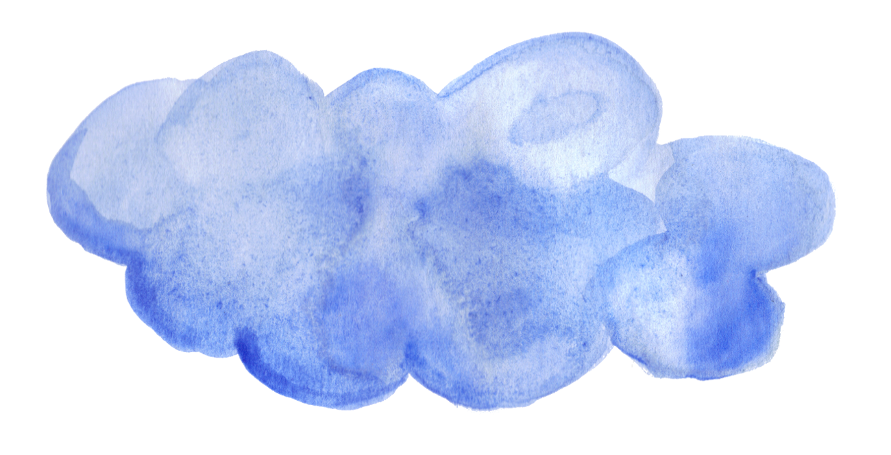 Watercolor clouds clipart jpg How to watercolor clouds clipart images gallery for free ... jpg