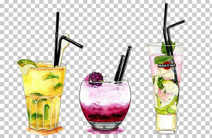 Watercolor drinks clipart svg freeuse library Cocktail Watercolor Painting Illustration Drawing Alcoholic ... svg freeuse library