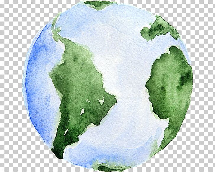 Watercolor earth clipart clipart black and white Earth Watercolor Painting PNG, Clipart, Continent, Earth ... clipart black and white