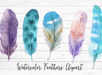 Watercolor feathers clipart banner transparent library Watercolor feathers clipart banner transparent library