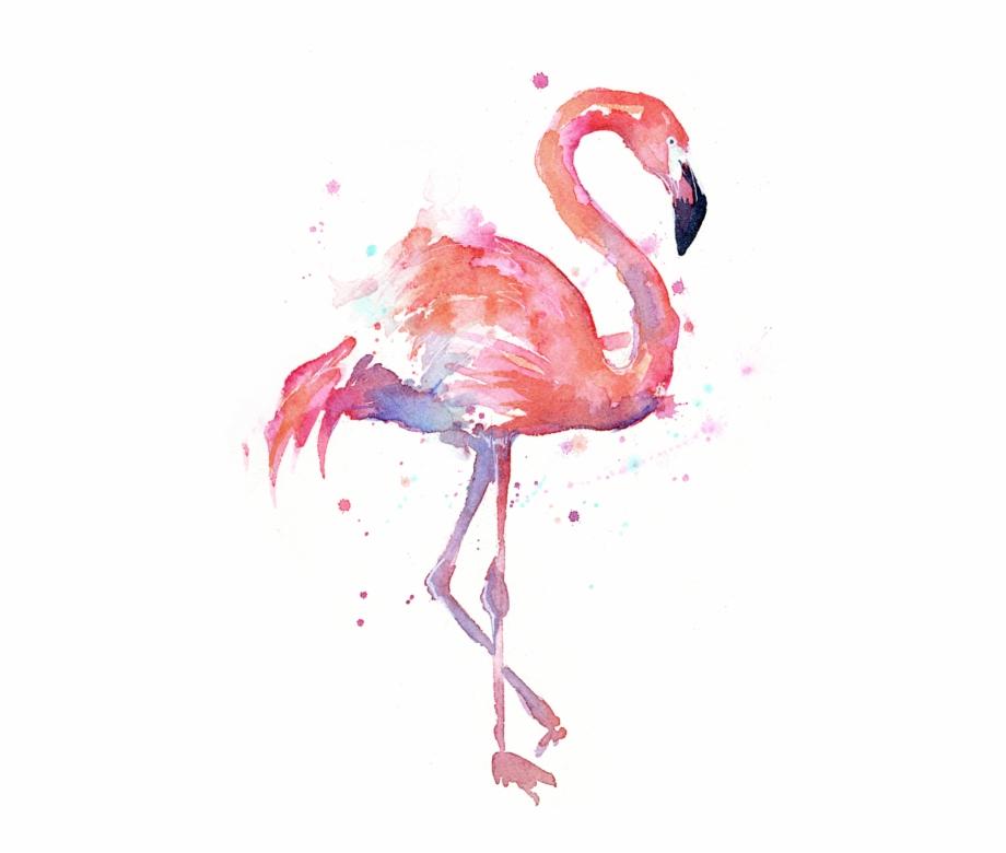 Watercolor flamingo clipart graphic freeuse Flamingo Transparent Painted, Picture - Watercolor Flamingo ... graphic freeuse