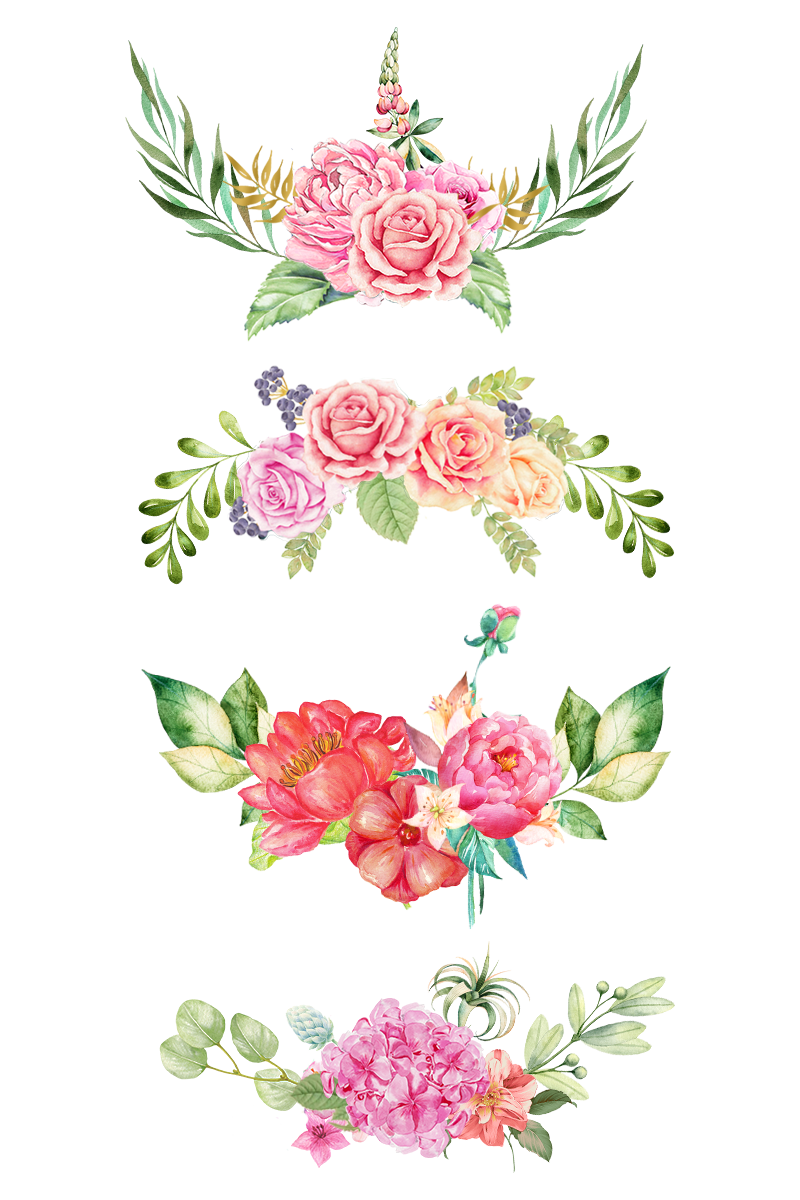 Simple flower border clipart svg transparent the bottom,pink flowers,color flowers,simple flowers,creative ... svg transparent