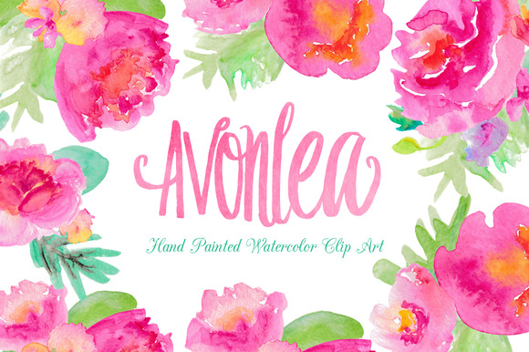 Watercolor flower clipart picture download Pink watercolor flowers clipart - ClipartFest picture download