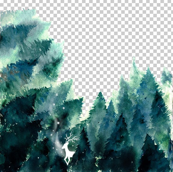 Watercolor forrist free clipart png free download Forest Watercolor Painting If(we) PNG, Clipart, Biome ... png free download