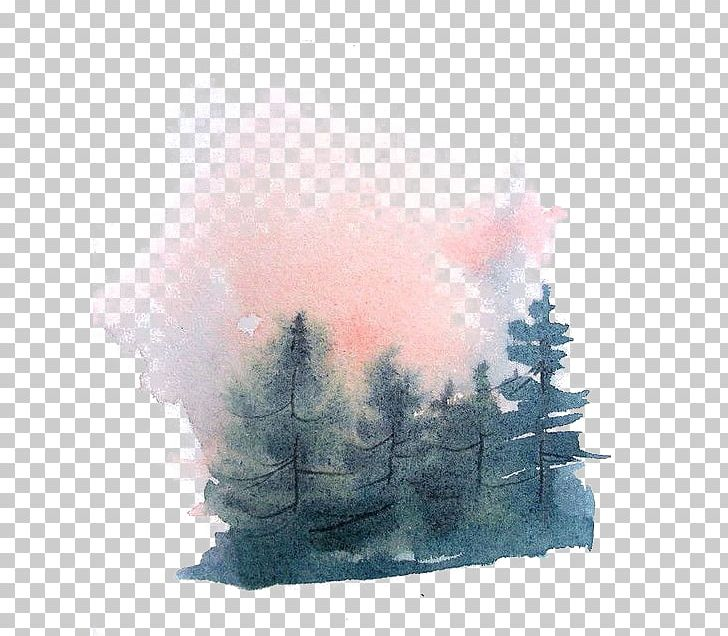 Watercolor forrist free clipart jpg download Watercolor Painting Drawing PNG, Clipart, Art Diary, Artis ... jpg download