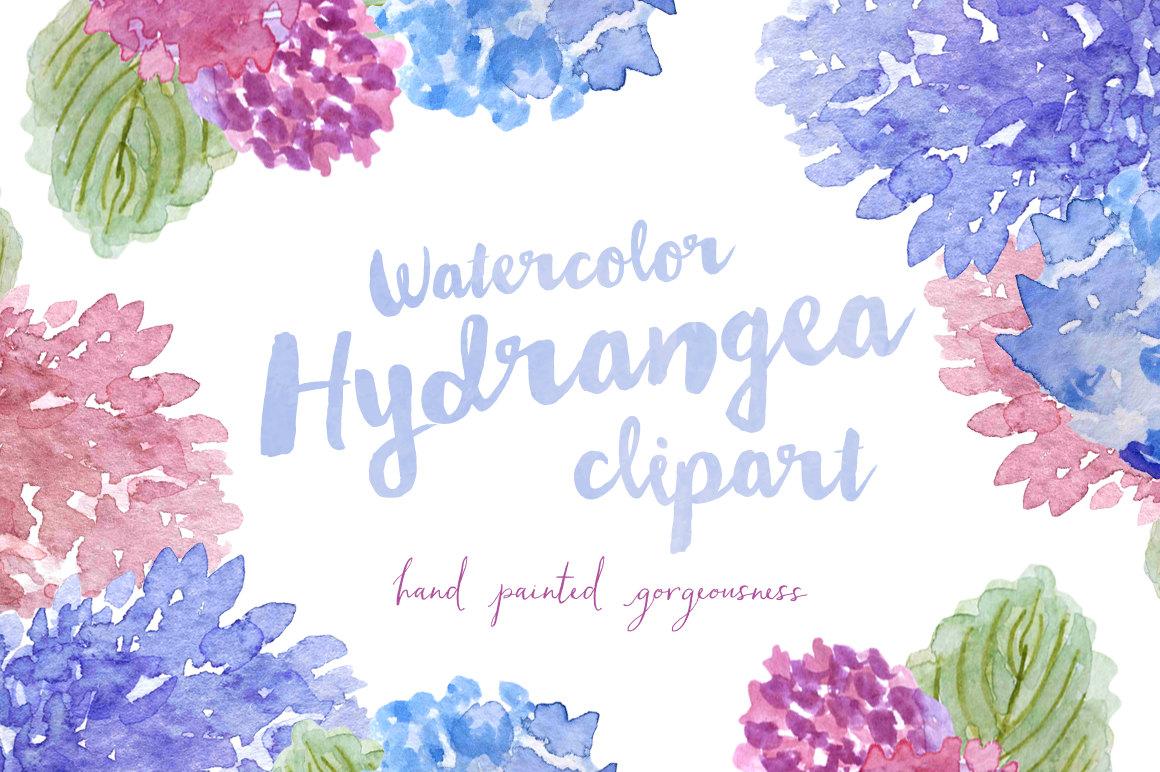 Watercolor hydrangea clipart clip royalty free Free Hydrangea Cliparts, Download Free Clip Art, Free Clip ... clip royalty free