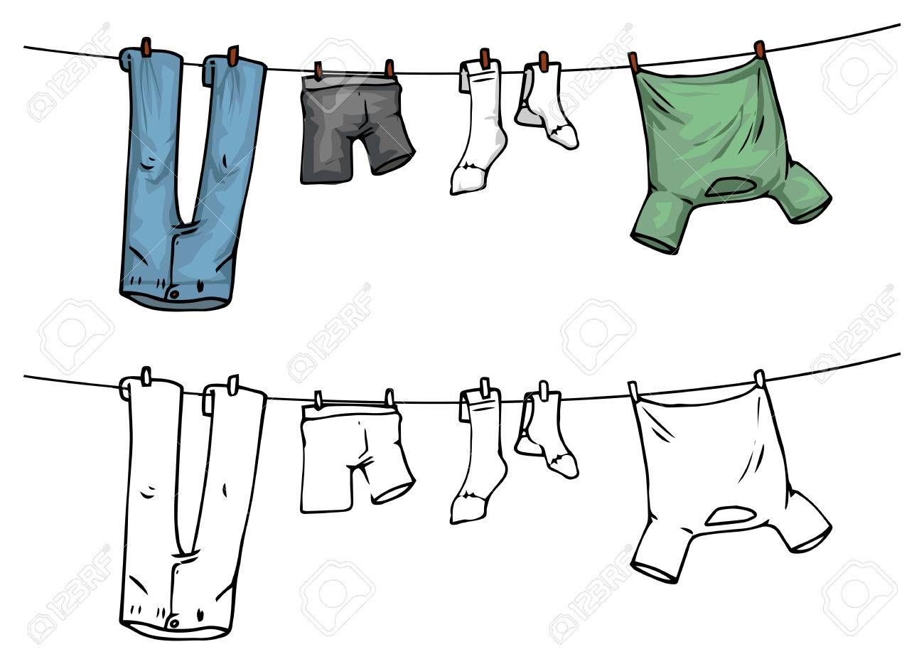 Watercolor laundry linen clipart royalty free stock Pin by Rosa Light on Pinterest | Clothes line, Hanging ... royalty free stock