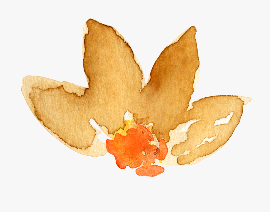 Watercolor leaves fall clipart png library library Free Fall Watercolor Floral Clip Art - Maple Leaf #14700 ... png library library
