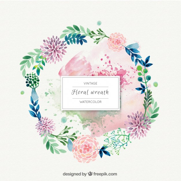 Watercolor lemon wreath free clipart png clipart royalty free stock Wreath Vectors, Photos and PSD files | Free Download clipart royalty free stock