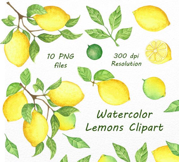 Watercolor lemon wreath free clipart png picture library Watercolor lemon wreath free clipart png - ClipartFox picture library
