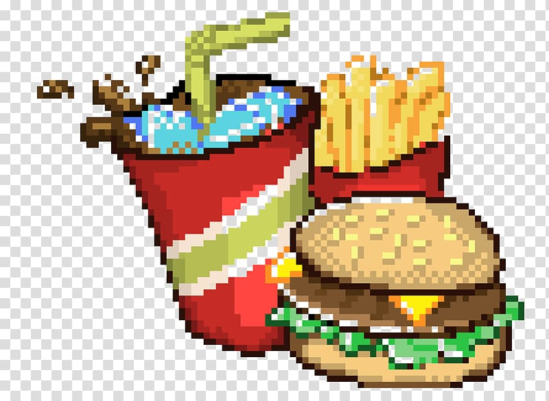Watercolor minecraft clipart clip free library Minecraft Fast food Pixel art Drawing, pixel art transparent ... clip free library