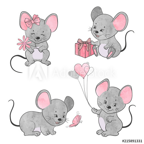 Watercolor mouse clipart jpg download Watercolor Mouse at PaintingValley.com   Explore collection ... jpg download