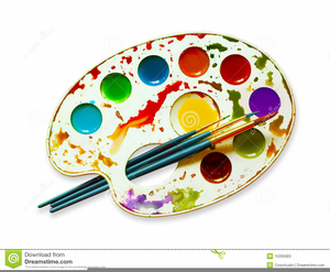 Watercolor palette clipart free graphic freeuse download Watercolor Paints Clipart | Free Images at Clker.com ... graphic freeuse download