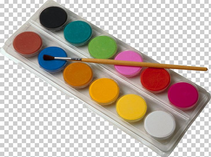 Watercolor pallet clipart image free stock Watercolor Painting Drawing Palette PNG, Clipart, Art, Color ... image free stock