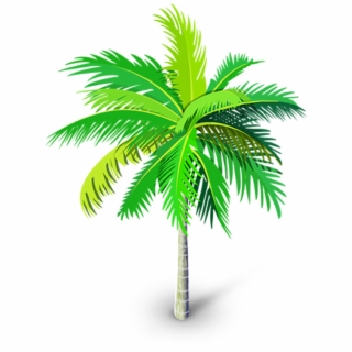 Watercolor palm tree clipart image royalty free download Free Palm Tree PNG Images & Cliparts - Pngtube image royalty free download