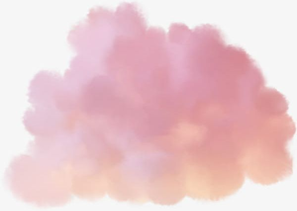 Watercolor pink cloud clipart png black and white Pink Cloud PNG, Clipart, Abstract, Backdrop, Backgrounds ... png black and white