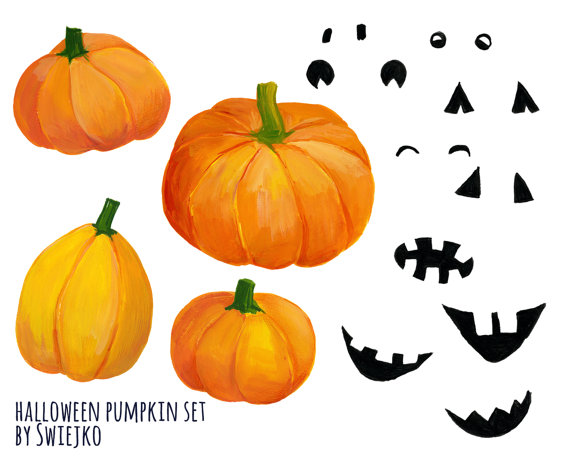 Pumpkin watercolor clipart - ClipartFest clip freeuse download