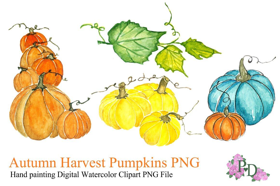Pumpkin clipart Photos, Graphics, Fonts, Themes, Templates ... png free download