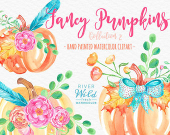 Pumpkin clipart | Etsy clipart free library
