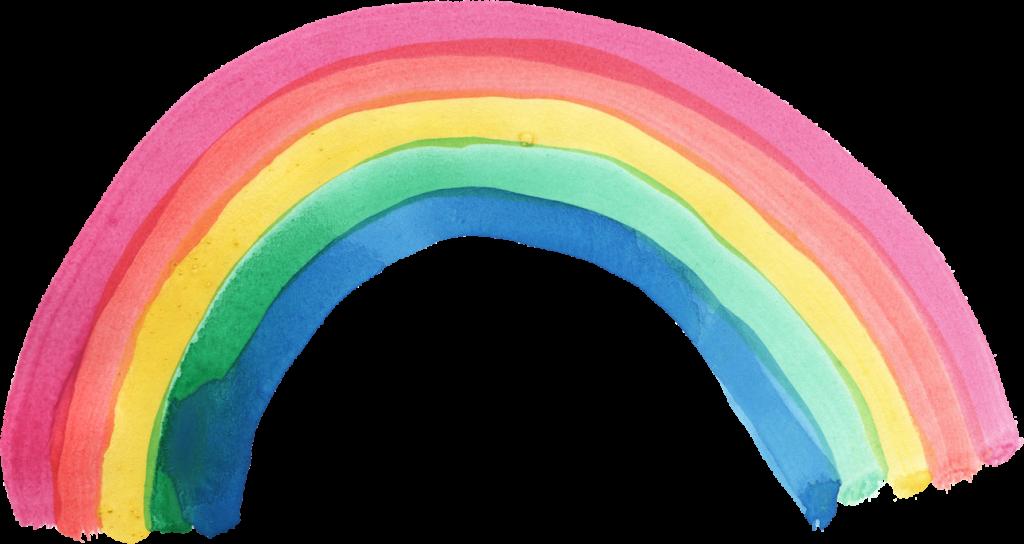 Watercolor rainbow clipart clip art free library Rainbow watercolor texture clipart images gallery for free ... clip art free library