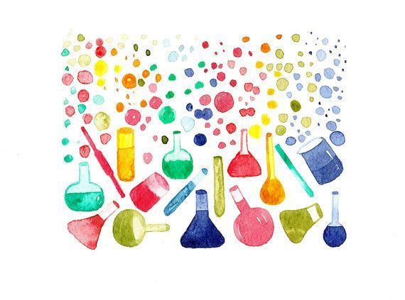 Watercolor scientist clipart vector download Watercolor Science at PaintingValley.com | Explore ... vector download