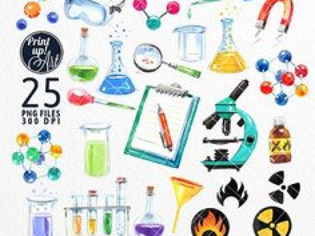 Watercolor scientist clipart image library library Watercolor Clipart science 6 - 236 X 211 Free Clip Art stock ... image library library