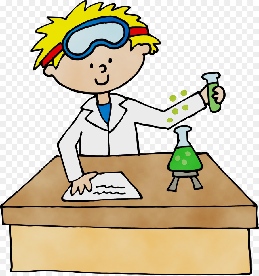 Watercolor scientist clipart vector royalty free Scientist Cartoon png download - 2817*3000 - Free ... vector royalty free