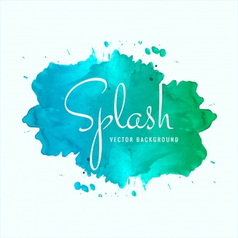 Watercolor spalsh clipart free transparent library Splash Vectors, Photos and PSD files | Free Download transparent library
