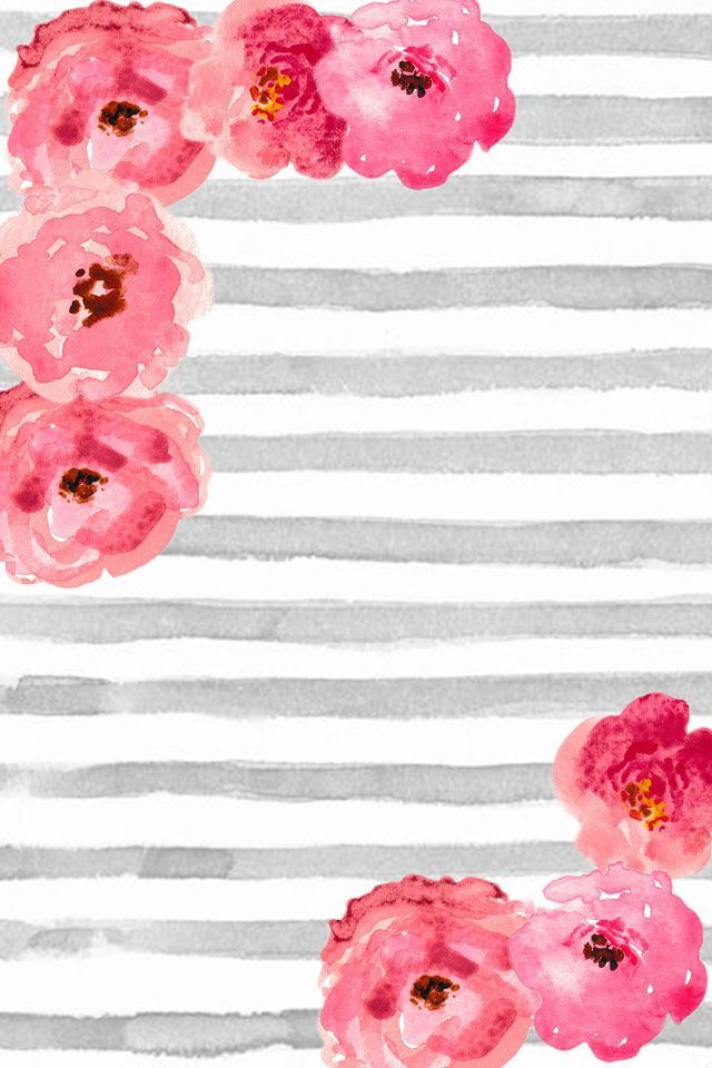 Watercolor striped background clipart graphic black and white stock Free Phone Wallpaper / Background cute gray and white ... graphic black and white stock
