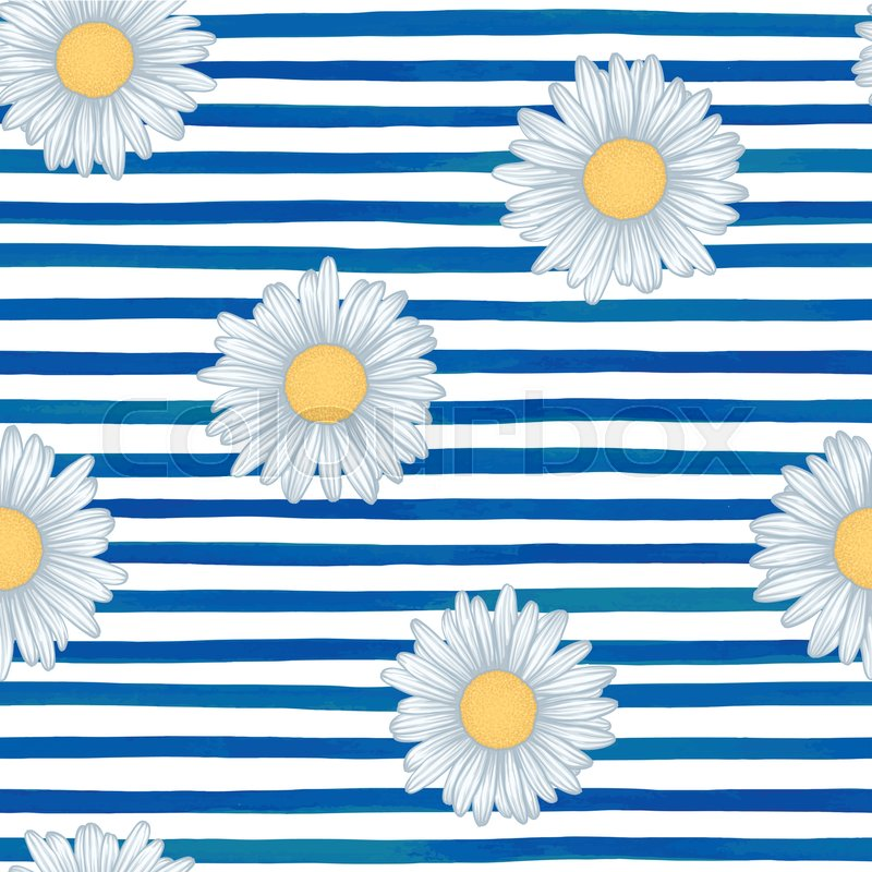 Watercolor striped background clipart graphic library Beautiful seamless pattern with blue ...   Stock vector ... graphic library