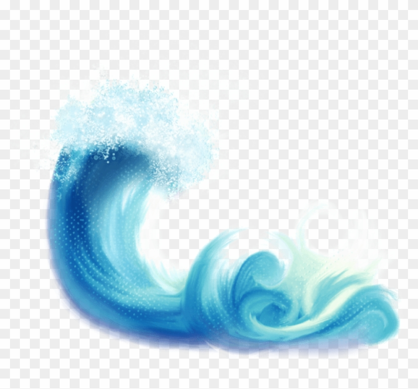 Watercolor wave clipart clip library download Watercolor Waves Clipart, HD Png Download - 692x600(#241393 ... clip library download