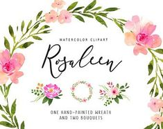 Watercolour clipart to buy transparent download 204 Best Watercolor flower clip art images in 2019 ... transparent download