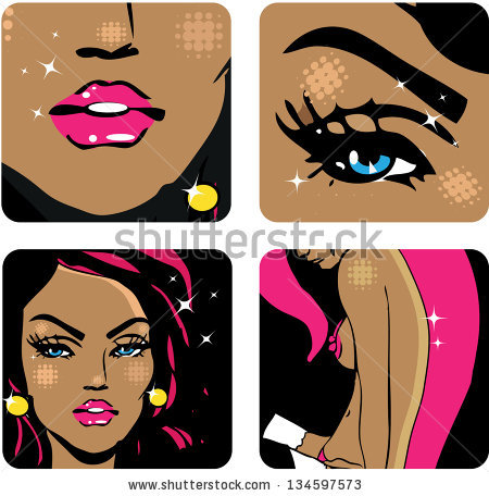Waterdrop clipart with eyes and mouth and hair clip art transparent library Eyes Nose Mouth Stock Images, Royalty-Free #81158 ... clip art transparent library