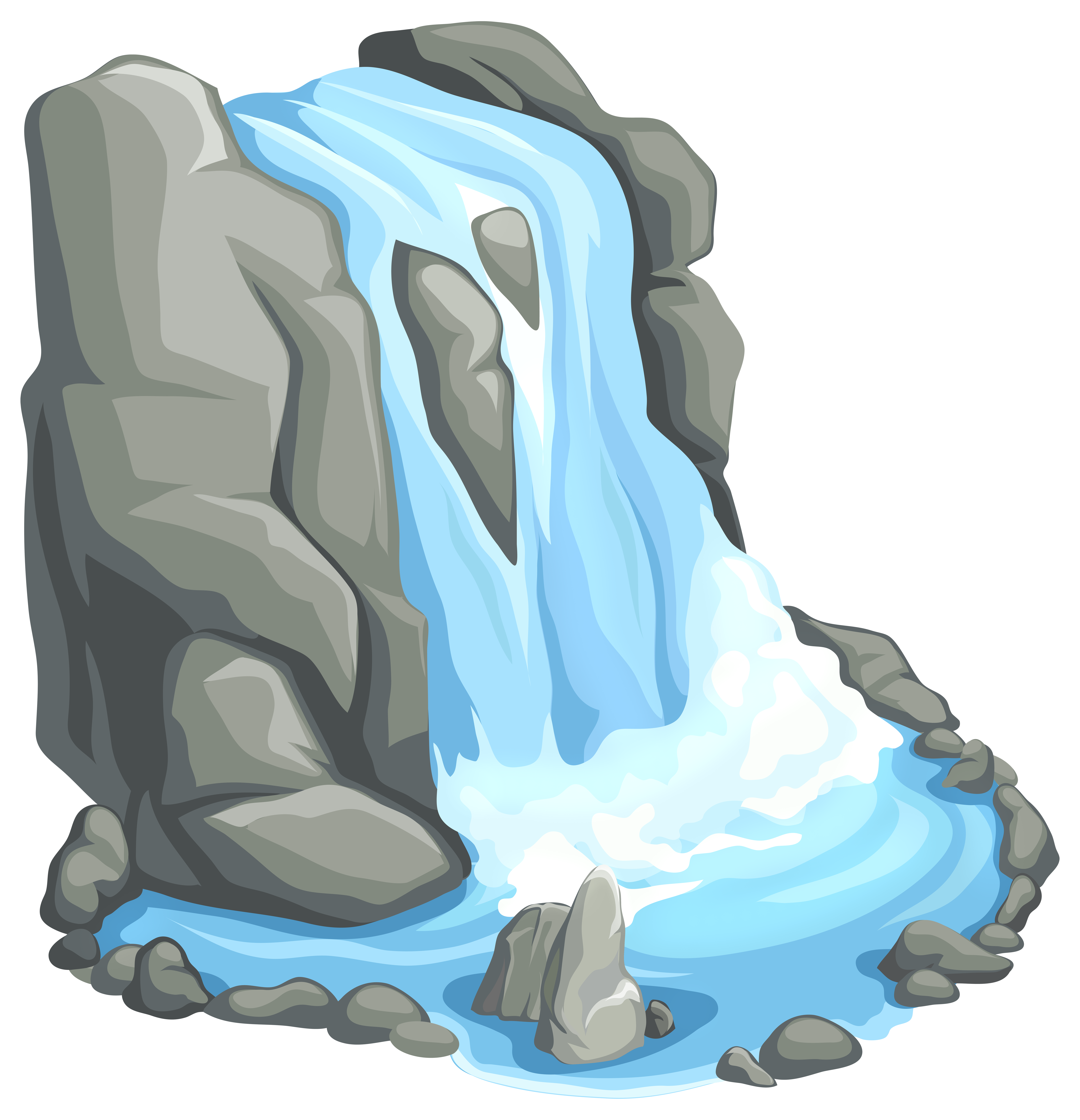 Waterfall clipart vector royalty free Waterfall PNG Clip Art - Best WEB Clipart vector royalty free