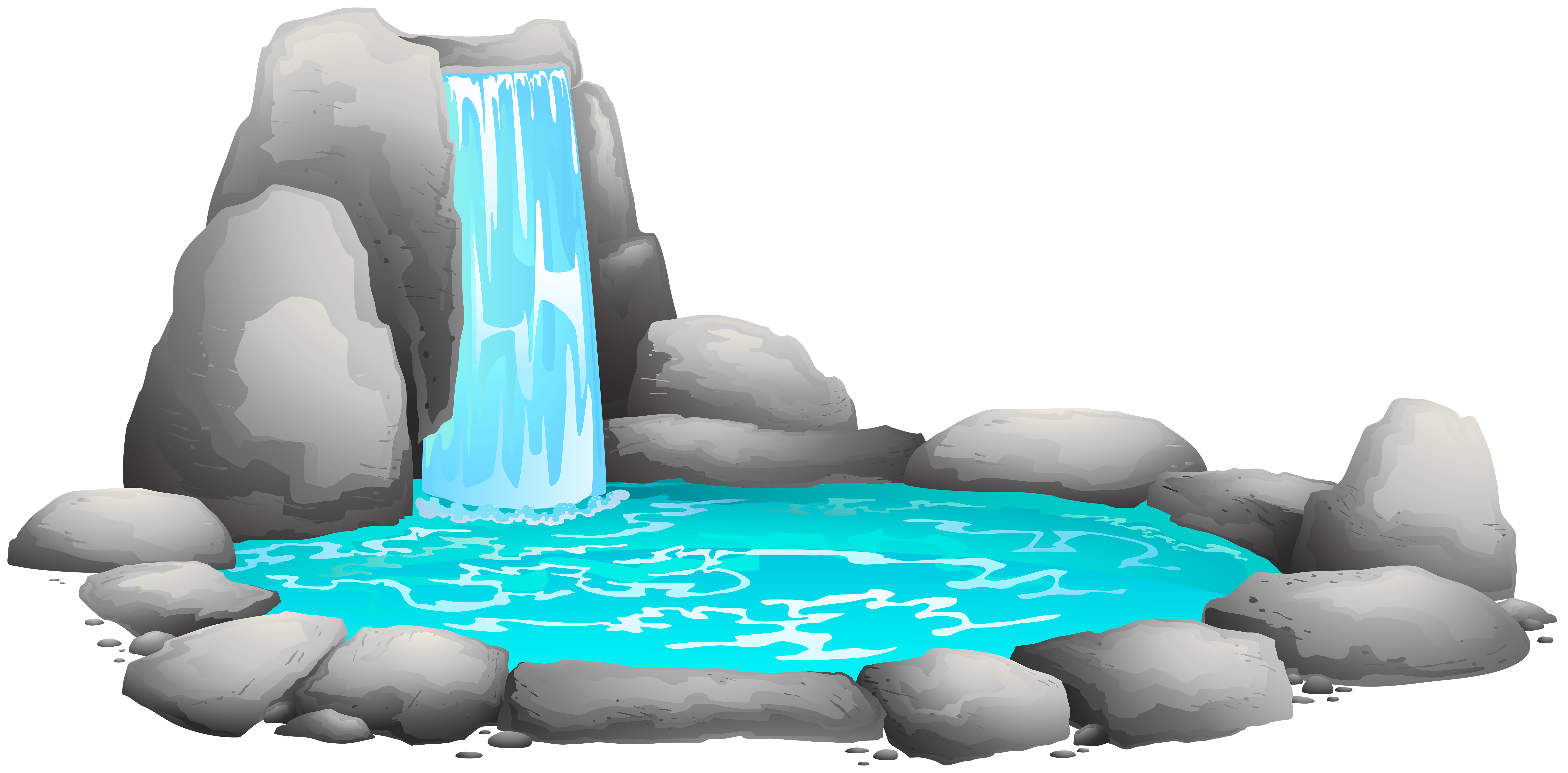 Waterfall clipart clipart free library Waterfall PNG Clip Art - Best WEB Clipart clipart free library